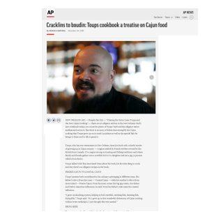 brustman-carrino-public-relations-ap-cracklins-to-boudin-toups-cookbook-cajun-food